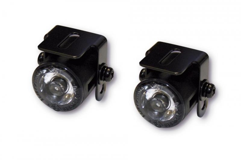 Dagrijverlichting motor / parkeerlicht LED set   mPartz.nl